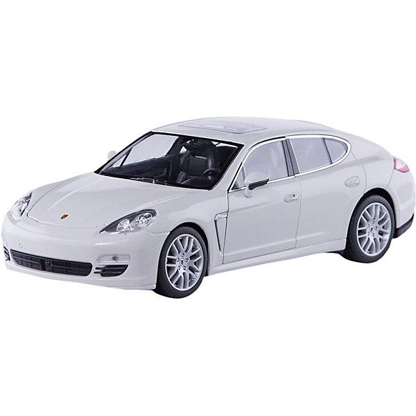 Модель машины 1:24 Porsche Panamera S, WellyМашинки<br>Модель машины Porsche Panamera S от Welly (Велли) станет замечательным подарком для автолюбителей всех возрастов. В коллекции масштабных моделей Welly представлено все многообразие автотехники: ретро-автомобили, легковые автомобили различных марок, грузовики, автомобили городских служб и многое другое. Все машинки отличаются высокой степенью детализации и тщательной проработкой всех элементов.<br><br>Машинка Porsche Panamera S представляет собой точную копию настоящего автомобиля в масштабе 1:24. Немецкий скоростной и в то же время представительский автомобиль Porsche Panamera S, появившийся 2009 году, получил имя Panamera благодаря удачным выступлениям Porsche в гонке Carrera Panamericana, проходившей в 50-х годах XX века. Это роскошный спорткар с оригинальным дизайном, отличительная особенность которого - новая 5-дверная конструкция кузова с полого опускающейся крышей. Модель от Welly оснащена прочными стеклами и зеркалами<br>заднего вида, интерьер салона, двигатель и органы управления тщательно проработаны. Двери и капот открываются, колеса вращаются. Корпус машинки выполнен из металла, а отделка салона и декоративные элементы из пластика.<br><br>Дополнительная информация:<br><br>- Материал: металл, пластик, колеса прорезиненные.<br>- Масштаб: 1:24.<br>- Размер упаковки: 11 х 23 х 10 см.<br>- Вес: 0,54 кг. <br><br>Модель машины Porsche Panamera S, Welly можно купить в нашем интернет-магазине.<br>Ширина мм: 230; Глубина мм: 110; Высота мм: 110; Вес г: 542; Возраст от месяцев: 36; Возраст до месяцев: 192; Пол: Мужской; Возраст: Детский; SKU: 3777893;