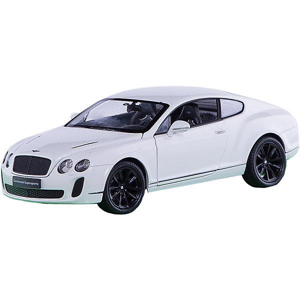Модель машины 1:24 Bentley Continental Supersports, WellyМашинки<br>Модель машины Bentley Continental Supersports, Welly (Велли) станет замечательным подарком для автолюбителей и коллекционеров всех возрастов. В коллекции масштабных моделей Welly представлено все многообразие автотехники: ретро-автомобили, легковые автомобили различных марок, грузовики, автомобили городских служб и многое другое. Все машинки отличаются высокой степенью детализации и тщательной проработкой всех элементов.<br><br>Машинка Бентли Континенталь Суперспортс представляет собой точную копию настоящего автомобиля в масштабе 1:24. Ультрадорогой спорткар Bentley Continental Supersports - самый быстрый и самый мощный автомобиль когда-либо созданный компанией Bentley, впервые был выпущен в 2009 году. Модель от Welly оснащена прочными стеклами и зеркалами заднего вида, интерьер салона, двигатель и органы управления тщательно проработаны. Двери и капот открываются, а колеса можно поворачивать с помощью руля. Корпус машинки выполнен из металла, а отделка салона и декоративные элементы из пластика.<br><br>Дополнительная информация:<br><br>- Материал: металл, пластик, колеса прорезиненные.<br>- Масштаб: 1:24.<br>- Размер упаковки: 11 х 23 х 10 см.<br>- Вес: 0,46 кг. <br><br>Модель машины Bentley Continental Supersports, Welly можно купить в нашем интернет-магазине.<br>Ширина мм: 120; Глубина мм: 230; Высота мм: 100; Вес г: 506; Возраст от месяцев: 36; Возраст до месяцев: 192; Пол: Мужской; Возраст: Детский; SKU: 3777896;