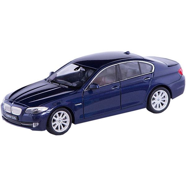 Модель машины 1:24 BMW 535I, WellyМашинки<br>Модель машины BMW 535I, Welly (Велли) станет замечательным подарком для автолюбителей и коллекционеров всех возрастов. В коллекции масштабных моделей Welly представлено все многообразие автотехники: ретро-автомобили, легковые автомобили различных марок, грузовики, автомобили городских служб и многое другое. Все машинки отличаются высокой степенью детализации и тщательной проработкой всех элементов.<br><br>Машинка BMW 535I представляет собой точную копию настоящего автомобиля в масштабе 1:24. Автомобиль BMW 535I выпускается с 2010 года и отличается способностью ускоряться до 100 км/ч за 6 секунд. Модель от Welly оснащена прочными стеклами и зеркалами заднего вида, интерьер салона, двигатель и органы управления тщательно проработаны. Двери и капот открываются, а колеса можно поворачивать с помощью руля. Корпус автомобиля выполнен из металла, а отделка салона и декоративные элементы из пластика.<br><br>Дополнительная информация:<br><br>- Материал: металл, пластик, колеса прорезиненные.<br>- Масштаб: 1:24.<br>- Размер модели: 8 х 18 х 6 см.<br>- Размер упаковки: 11 х 23 х 11 см.<br>- Вес: 0,55 кг. <br><br>Модель машины BMW 535I, Welly можно купить в нашем интернет-магазине.<br>Ширина мм: 230; Глубина мм: 115; Высота мм: 105; Вес г: 550; Возраст от месяцев: 36; Возраст до месяцев: 192; Пол: Мужской; Возраст: Детский; SKU: 3777898;