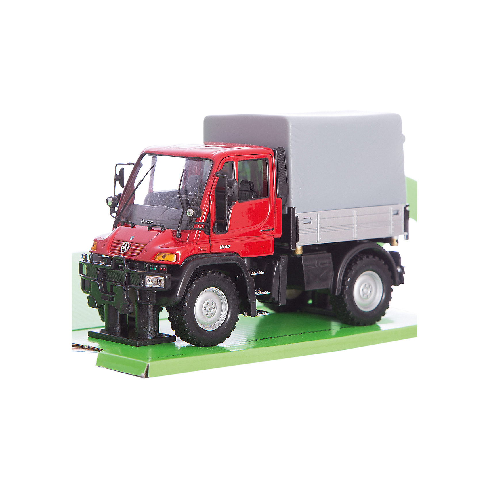 ������ ������ 1:32 Mercedes-Benz Unimog U400 � ��������, Welly