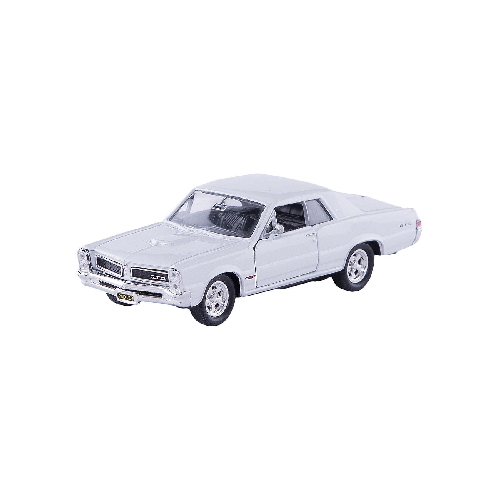 Модель винтажной машины 1:34-39 Pontiac GTO 1965, Welly