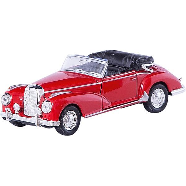 Модель винтажной машины 1:34-39 Mercedes-Benz 300S 1955, WellyМашинки<br>Модель винтажной машины Mercedes-Benz 300S 1955, Welly (Велли) станет замечательным подарком для автолюбителей и коллекционеров всех возрастов. В коллекции масштабных моделей Welly представлено все многообразие автотехники: ретро-автомобили, легковые автомобили различных марок, грузовики, автомобили городских служб и многое другое. Все машинки отличаются высокой степенью детализации и тщательной проработкой всех элементов.<br><br>Машинка Mercedes-Benz 300S 1955 представляет собой точную копию настоящего ретро-автомобиля в масштабе 1:34-39. Модель от Welly оснащена прочным лобовым стеклом, интерьер салона и органы управления тщательно проработаны. Передние двери открываются, руль не вращается. Автомобиль снабжен инерционным механизмом, ускоряется при толчке. Корпус модели выполнен из металла, а отделка салона и декоративные элементы из пластика.<br><br>Дополнительная информация:<br><br>- Материал: металл, пластик, колеса прорезиненные.<br>- Масштаб: 1:34-39.<br>- Размер упаковки: 15 х 6 х 12 см.<br>- Вес: 0,15 кг. <br><br>Модель винтажной машины Mercedes-Benz 300S 1955, Welly можно купить в нашем интернет-магазине.<br><br>Ширина мм: 150<br>Глубина мм: 60<br>Высота мм: 110<br>Вес г: 160<br>Возраст от месяцев: 36<br>Возраст до месяцев: 192<br>Пол: Мужской<br>Возраст: Детский<br>SKU: 3777910