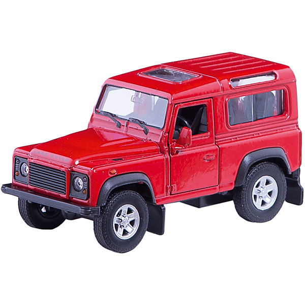 Модель машины 1:34-39 Land Rover Defender, WellyМашинки<br>Модель машины Land Rover Defender, Welly (Велли) станет замечательным подарком для автолюбителей всех возрастов. В коллекции масштабных моделей Welly представлено все многообразие автотехники: ретро-автомобили, легковые автомобили различных марок, грузовики, автомобили городских служб и многие другие. Все машинки отличаются высокой степенью детализации и тщательной проработкой всех элементов.<br><br>Автомобиль Land Rover Defender представляет собой точную копию настоящего автомобиля в масштабе 1:34-39. Знаменитый британский внедорожник отличается высокой проходимостью и способностью передвигаться в любых дорожных  условиях. Модель от Welly оснащена прочными стеклами, интерьер салона и органы управления тщательно проработаны. Передние двери открываются. Автомобиль снабжен инерционным механизмом, ускоряется при толчке. Корпус модели выполнен из металла, а отделка салона и декоративные элементы из пластика.<br><br>Дополнительная информация:<br><br>- Материал: металл, пластик, колеса прорезиненные.<br>- Масштаб: 1:34-39.<br>- Размер упаковки: 15 х 6 х 12 см.<br>- Вес: 0,15 кг. <br><br>Модель машины Land Rover Defender, Welly можно купить в нашем интернет-магазине.<br><br>Ширина мм: 150<br>Глубина мм: 60<br>Высота мм: 110<br>Вес г: 163<br>Возраст от месяцев: 36<br>Возраст до месяцев: 192<br>Пол: Мужской<br>Возраст: Детский<br>SKU: 3777915