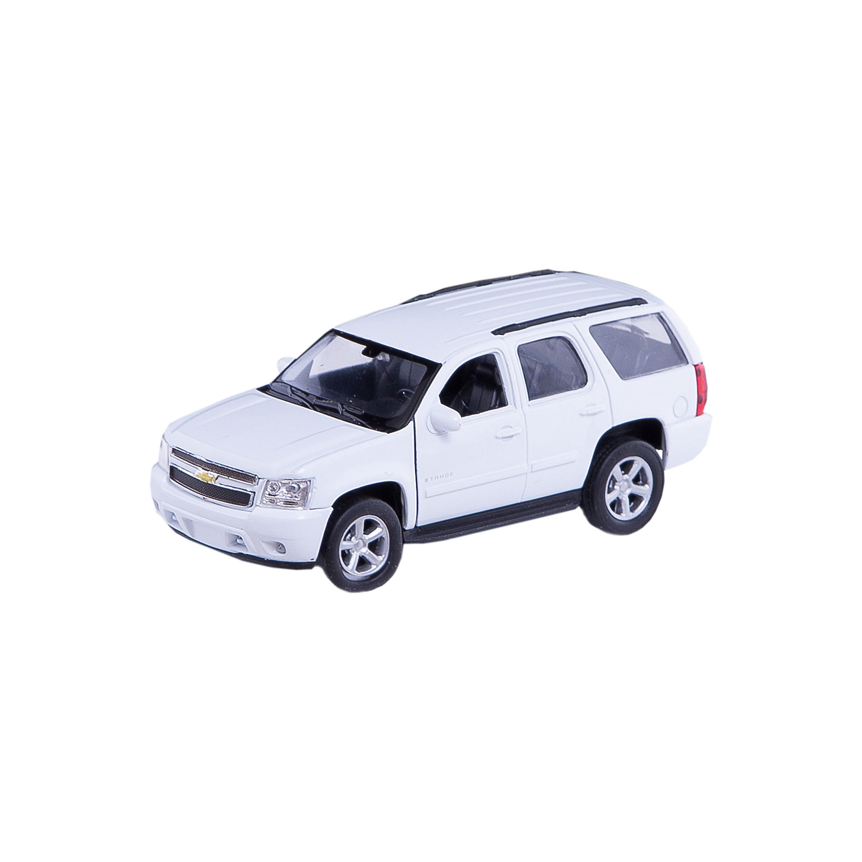 Welly Модель машины 1:34-39 Chevrolet Tahoe, Welly автомобиль welly nissan gtr 1 34 39 белый 43632