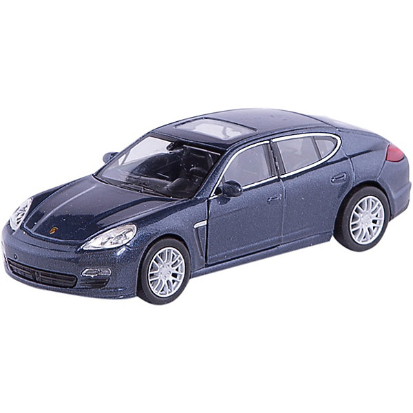 Модель машины 1:34-39 Porsche Panamera S, WellyМашинки<br>Модель машины Porsche Panamera S от Welly (Велли) станет замечательным подарком для автолюбителей всех возрастов. В коллекции масштабных моделей Welly представлено все многообразие автотехники: ретро-автомобили, легковые автомобили различных марок, грузовики, автомобили городских служб и многое другое. Все машинки отличаются высокой степенью детализации и тщательной проработкой всех элементов.<br><br>Машинка Porsche Panamera S представляет собой точную копию настоящего автомобиля в масштабе 1:34-39. Немецкий спорткар Porsche Panamera S, появившийся 2009 году, получил имя Panamera благодаря удачным выступлениям Porsche в гонке Carrera Panamericana, проходившей в 50-х годах XX века. Это роскошный спорткар с оригинальным дизайном, отличительная особенность которого - новая 5-дверная конструкция кузова хетчбэк с полого опускающейся крышей. Модель от Welly оснащена прочными стеклами и зеркалами заднего вида, интерьер салона и органы управления тщательно проработаны. Передние двери открываются. Автомобиль снабжен инерционным механизмом, ускоряется при толчке. Корпус машинки выполнен из металла, а отделка салона и декоративные элементы из пластика.<br><br>Дополнительная информация:<br><br>- Материал: металл, пластик, колеса прорезиненные.<br>- Масштаб: 1:34-39.<br>- Размер упаковки: 16 х 6 х 13 см.<br>- Вес: 0,15 кг. <br><br>Внимание: товар представлен в ассортименте. К сожалению, выбрать определенный цвет заранее не представляется возможным.<br><br>Модель машины Porsche Panamera S, Welly можно купить в нашем интернет-магазине.<br>Ширина мм: 140; Глубина мм: 60; Высота мм: 110; Вес г: 155; Возраст от месяцев: 36; Возраст до месяцев: 192; Пол: Мужской; Возраст: Детский; SKU: 3777918;