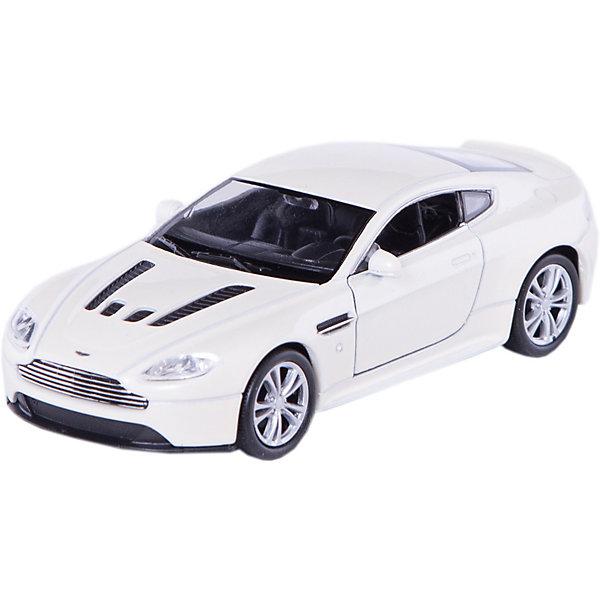 Модель машины 1:34-39 Aston Martin V12 Vantage, WellyМашинки<br>Модель машины Aston Martin V12 Vantage, Welly (Велли) станет замечательным подарком для автолюбителей и коллекционеров всех возрастов. В коллекции масштабных моделей Welly представлено все многообразие автотехники: ретро-автомобили, легковые автомобили различных марок, грузовики, автомобили городских служб и многое другое. Все машинки отличаются высокой степенью детализации и тщательной проработкой всех элементов.<br><br>Машинка Aston Martin V12 Vantage представляет собой точную копию настоящего автомобиля в масштабе 1:34-39. Астон Мартин - легендарная английская компания, выпускающая ультрадорогие спортивные автомобили, большинство которых сделаны вручную. Aston Martin V12 Vantage впервые был представлен в Женеве в 2005 году. Модель от Welly оснащена прочными стеклами и зеркалами заднего вида, интерьер салона и органы управления тщательно проработаны. Передние двери открываются. Автомобиль снабжен инерционным механизмом, ускоряется при толчке. Корпус машинки выполнен из металла, а отделка салона и декоративные элементы из пластика.<br><br>Дополнительная информация:<br><br>- Материал: металл, пластик, колеса прорезиненные.<br>- Масштаб: 1:34-39.<br>- Размер упаковки: 15 х 6 х 12 см.<br>- Вес: 0,15 кг. <br><br>Модель машины Aston Martin V12 Vantage, Welly можно купить в нашем интернет-магазине.<br>Ширина мм: 60; Глубина мм: 150; Высота мм: 110; Вес г: 147; Возраст от месяцев: 36; Возраст до месяцев: 192; Пол: Мужской; Возраст: Детский; SKU: 3777921;
