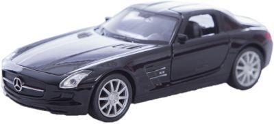 Модель машины 1:34-39 Mercedes-Benz SLS AMG, Welly фото-1