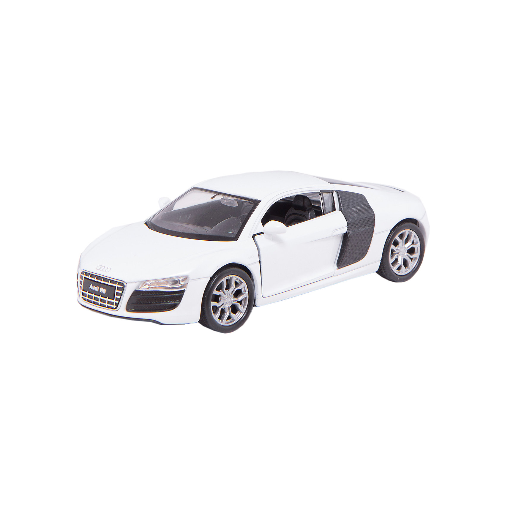 Welly Модель машины 1:34-39 Audi R8, Welly автомобиль welly nissan gtr 1 34 39 белый 43632