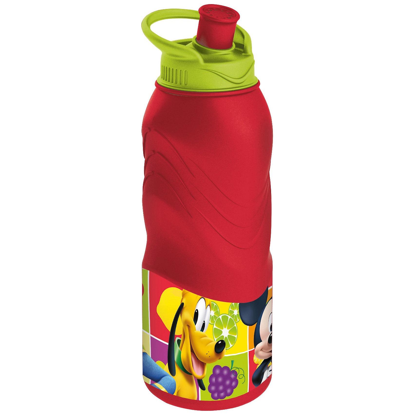 Бутылка спортивная (400 мл), Микки МаусБутылка спортивная (400 мл), Микки Маус станет приятным сюрпризом для поклонника мультфильма о Микки Маусе (Mickey Mouse).<br>Яркая спортивная бутылка, украшенная изображением популярного диснеевского персонажа Микки Мауса, обязательно понравится Вашему малышу и будет просто незаменима во время спортивных тренировок. Её специальная конструкция не позволяет воде пролиться во время питья. Компактную бутылочку удобно брать с собой на прогулки, в походы или в школу. Ребенок с удовольствием будет пить из этой бутылки, а жизнерадостная картинка подарит ему хорошее настроение.<br><br>Дополнительная информация:<br><br>- Материал: высококачественный пластик<br>- Объем: 400 мл.<br>- Размер: 208 х 58 х 62 мм.<br><br>Бутылку спортивную (400 мл), Микки Маус можно купить в нашем интернет-магазине.<br><br>Ширина мм: 62<br>Глубина мм: 58<br>Высота мм: 208<br>Вес г: 68<br>Возраст от месяцев: 12<br>Возраст до месяцев: 120<br>Пол: Унисекс<br>Возраст: Детский<br>SKU: 3777942