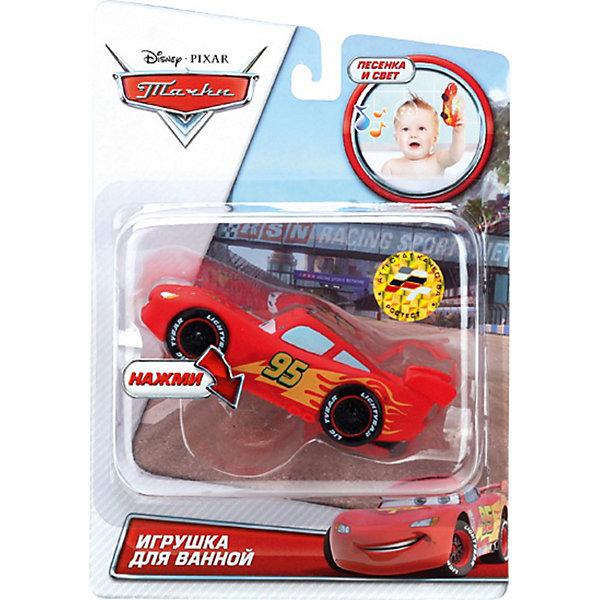 Игрушка Макквин, со светом и звуком, disney, Играем вместе, в ассортиментеИгрушки для ванной<br>Игрушка для купания Макквин, Disney, Играем вместе превратит купание ребенка в веселую увлекательную игру. Забавная машинка Макквин (Lightning McQueen) - один из<br>главных героев популярного диснеевского мультфильма Тачки (Cars), это легендарный автогонщик, выигравший множество соревнований. Дизайн машинки полностью<br>повторяет свой персонаж из мультфильма. Если нажать на автомобиль, то можно прослушать песенку из мультфильма, имеются световые эффекты.<br><br>Дополнительная информация:<br><br>- Материал: ПВХ.<br>- Размер упаковки: 22 x 6 x 15см. <br>- Вес: 130 гр.<br>- Для работы необходимы батарейки<br><br>ВНИМАНИЕ! Данный артикул имеется в наличии в разных вариантах исполнения. Заранее выбрать определенный вариант нельзя. При заказе нескольких наборов возможно получение одинаковых.<br><br>Игрушку Макквин, Disney, Играем вместе можно купить в нашем интернет-магазине.<br><br>Ширина мм: 220<br>Глубина мм: 60<br>Высота мм: 150<br>Вес г: 130<br>Возраст от месяцев: 6<br>Возраст до месяцев: 36<br>Пол: Мужской<br>Возраст: Детский<br>SKU: 3778146