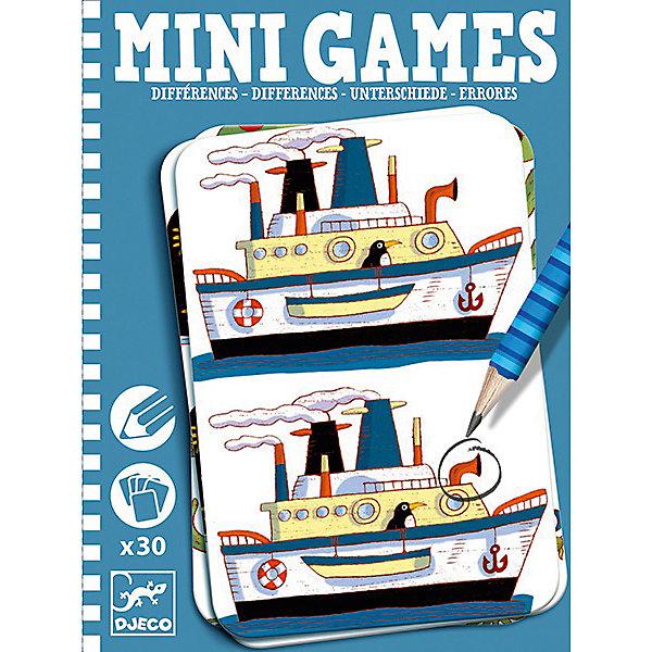 Мини игра Найди отличия: Реми,  DJECOИгры в дорогу<br>Забудьте о скучных путешествиях вместе с замечательной игрой Найди отличия: Реми от DJECO (Джеко). Теперь в мини формате! Игра очень красивая и компактная, поэтому она идеальный спутник для маленького непоседы. В комплекте 30 игровых карточек на которых нарисованы любимые детьми забавные картинки, между которыми необходимо найти 7 отличий. Игра настолько увлекательная, что ее можно использовать и для целой компании, находя отличия на скорость. Очень важно развивать у малыша внимание, усидчивость и логику. А лучше делать все это во время увлекательной игры, которая никогда не надоедает, ведь в наборе масса карточек с разными сюжетами!<br><br>Дополнительная информация: <br><br>- В наборе: 30 игровых карточек, карандаш;<br>- Удобно брать в путешествия;<br>- Можно играть одному или с компанией ;<br>- Отличный подарок;<br>- Понравится и взрослым и детям;<br>- Игра  продается в красивой картонной коробке;<br>- Размер упаковки: 11 х 15 х 2 см<br>- Вес: 250 г<br><br>Мини игру Найди отличия: Реми,  DJECO (Джеко) можно купить в нашем интернет-магазине.<br>Ширина мм: 110; Глубина мм: 150; Высота мм: 13; Вес г: 170; Возраст от месяцев: 72; Возраст до месяцев: 144; Пол: Унисекс; Возраст: Детский; SKU: 3778407;