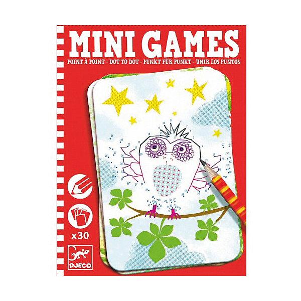 Мини игра Соедини точки: Элиза,  DJECOИгры в дорогу<br>Забудьте о скучных путешествиях вместе с замечательной игрой Соедини точки: Элиза от DJECO (Джеко). Теперь в мини формате! Игра очень красивая и компактная, поэтому она идеальный спутник для маленького непоседы. В комплекте 30 игровых карточек на которых спрятаны любимые детьми забавные картинки. Цель игры – последовательно соединить точки так, чтобы получилась красивая картинка. Двигаться от точки к точке необходимо очень аккуратно и внимательно, в таком случае у тебя получится картинка с изображением забавного зверька! Игра настолько увлекательная, что ее можно использовать и для целой компании, рисуя персонажей на скорость. Очень важно развивать у малыша внимание, усидчивость и логику. А лучше делать все это во время увлекательной игры, которая никогда не надоедает, ведь в наборе карточки с занимательными сюжетами!<br><br>Дополнительная информация: <br><br>- В наборе: 30 игровых карточек, карандаш;<br>- Удобно брать в путешествия;<br>- Можно играть одному или с компанией ;<br>- Отличный подарок;<br>- Понравится и взрослым и детям;<br>- Игра  продается в красивой картонной коробке;<br>- Размер упаковки: 11 х 15 х 2 см;<br>- Вес: 250 г<br><br>Мини игру Соедини точки: Элиза,  DJECO (Джеко) можно купить в нашем интернет-магазине.<br>Ширина мм: 110; Глубина мм: 150; Высота мм: 13; Вес г: 250; Возраст от месяцев: 72; Возраст до месяцев: 144; Пол: Унисекс; Возраст: Детский; SKU: 3778416;