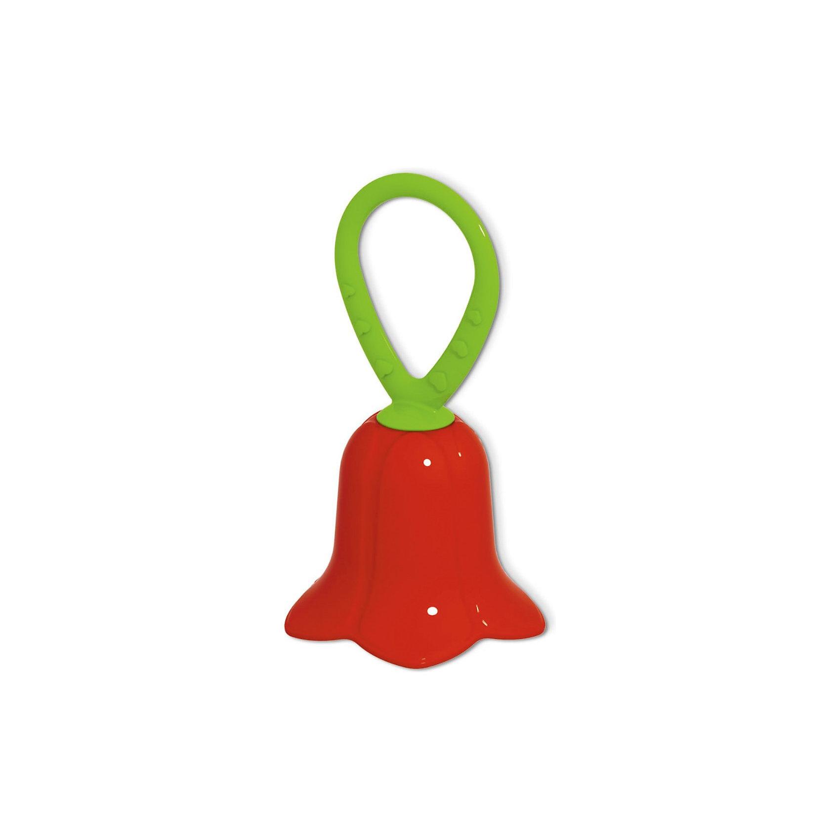Погремушка Колокольчик, СтелларПогремушки<br>Погремушка Колокольчик, Стеллар станет самой первой игрушкой Вашего малыша.<br>Игрушка представляет собой яркий колокольчик с шариками внутри, выполняющими роль погремушки. Удобная форма ручки погремушки позволит малышу с легкостью взять и держать ее. Яркие цвета игрушки направлены на развитие мыслительной деятельности, цветовосприятия, тактильных ощущений и мелкой моторики рук ребенка, а элемент погремушки способствует развитию слуха. В изготовлении игрушки использована безопасная для здоровья малышей пластмасса.<br><br>Дополнительная информация:<br><br>- Размер игрушки: 12 см.<br>- Материал: пластмасса<br><br>- ВНИМАНИЕ! Данный товар представлен в разных вариантах исполнения. К сожалению, заранее выбрать определенный вариант невозможно. При заказе нескольких погремушек возможно получение одинаковых<br><br>Погремушку Колокольчик, Стеллар можно купить в нашем интернет-магазине.<br><br>Ширина мм: 80<br>Глубина мм: 120<br>Высота мм: 80<br>Вес г: 50<br>Возраст от месяцев: 0<br>Возраст до месяцев: 12<br>Пол: Унисекс<br>Возраст: Детский<br>SKU: 3779242