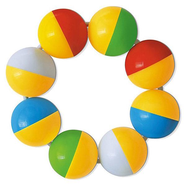 Погремушка Браслетик, СтелларИгрушки для новорожденных<br>Погремушка Браслетик, Стеллар станет самой первой игрушкой Вашего малыша.<br>Погремушка в виде браслетика из разноцветных шариков поможет Вашему крохе начать познавать мир вокруг себя и посодействует в развитии слуха, зрения, цветовосприятия и мышечной моторики. Погремушку Браслетик можно одеть на ручку или просто играть с ней. Погремушка сделана из высококачественной пластмассы, которая совершенно безопасна для здоровья вашего малыша!<br><br>Дополнительная информация:<br><br>- Диаметр одного шарика: 2.5 см.<br>- Диаметр всей погремушки: 8.5 см.<br>- Шарики соединены резинкой<br>- Материал: пластмасса<br><br>Погремушку Браслетик, Стеллар можно купить в нашем интернет-магазине.<br>Ширина мм: 80; Глубина мм: 30; Высота мм: 180; Вес г: 280; Возраст от месяцев: 0; Возраст до месяцев: 12; Пол: Унисекс; Возраст: Детский; SKU: 3779244;