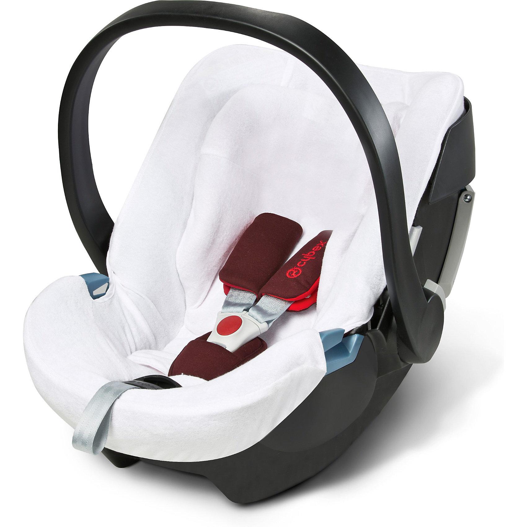 Летний чехол для Atona, CybexДаже хорошее автокресло требует определенного ухода, чтобы малыш ездил в чистоте и комфорте. Для автокресел Cybex Aton Basic, Cybex Aton, Cybex Aton 2 и Cybex Aton 3/3S производитель создал специальный чехол.<br>Он защищает ребенка в автокресле от перегревания в жаркие дни, легко стирается, преимущественно сделан из хлопка (мягкой махровой ткани), впитывает влагу,  защищает обивку кресла от загрязнения, обладает антибактериальными свойствами. Изделие произведено из качественных и безопасных для малышей материалов, оно соответствуют всем современным требованиям безопасности. Оно отлично показало себя на краш-тестах.<br> <br>Дополнительная информация:<br><br>материал: текстиль;<br>легкий;<br>поверхность пропускает воздух;<br>легко снять и выстирать;<br>подходит для автокресла Cybex Aton и модификаций.<br><br>Летний чехол для Atona от компании Cybex можно купить в нашем магазине.<br><br>Ширина мм: 216<br>Глубина мм: 144<br>Высота мм: 63<br>Вес г: 137<br>Возраст от месяцев: 0<br>Возраст до месяцев: 12<br>Пол: Унисекс<br>Возраст: Детский<br>SKU: 3779384