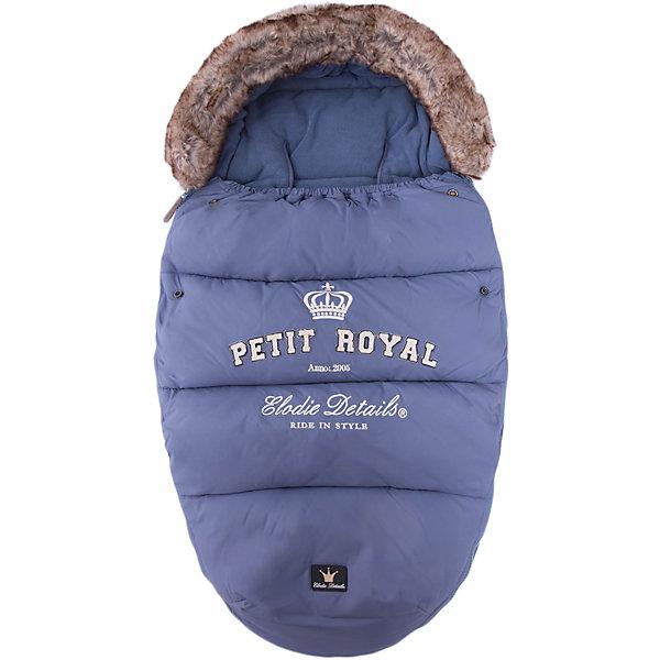 Конверт зимний с опушкой Petit Royal Blue, Elodie DetailsДетские конверты<br>Конверт зимний с опушкой Petit Royal Blue, Elodie Details (Элоди Дитейлс)<br><br>Характеристики:<br><br>• водо- и ветронепроницаемый материал<br>• теплая флисовая подкладка<br>• верх-капюшон<br>• молния с двух сторон<br>• прорези для 4-точечных ремней безопасности<br>• подходит для всех колясок, в том числе прогулочных<br>• размер: 53х110 см<br>• материал верха: нейлон<br>• материал подкладки: флис<br>• подходит для ручной и автоматической стирки<br>• цвет: синий<br><br>Каждая прогулка должна проходить с комфортом для малыша. Зимний конверт Petit Royal защитит кроху от мороза и холодного ветра. Верх конверта изготовлен из нейлона, который не пропустит воду и ветер внутрь. Подкладка из мягкого флиса согреет малыша и сохранит тепло в течение всей прогулки. Верх конверта можно использовать в качестве капюшона, защищающего от холодного и сильного ветра. Конверт имеет удобную форму и не стесняет движений ребенка. Кроме того, конверт отлично подходит для всех колясок, в том числе и прогулочных. Подарите малышу уют и тепло во время зимних прогулок!<br><br>Конверт зимний с опушкой Petit Royal Blue, Elodie Details (Элоди Дитейлс) вы можете купить в нашем интернет-магазине.<br>Ширина мм: 1100; Глубина мм: 530; Высота мм: 60; Вес г: 900; Цвет: синий деним; Возраст от месяцев: 0; Возраст до месяцев: 12; Пол: Мужской; Возраст: Детский; SKU: 3783522;
