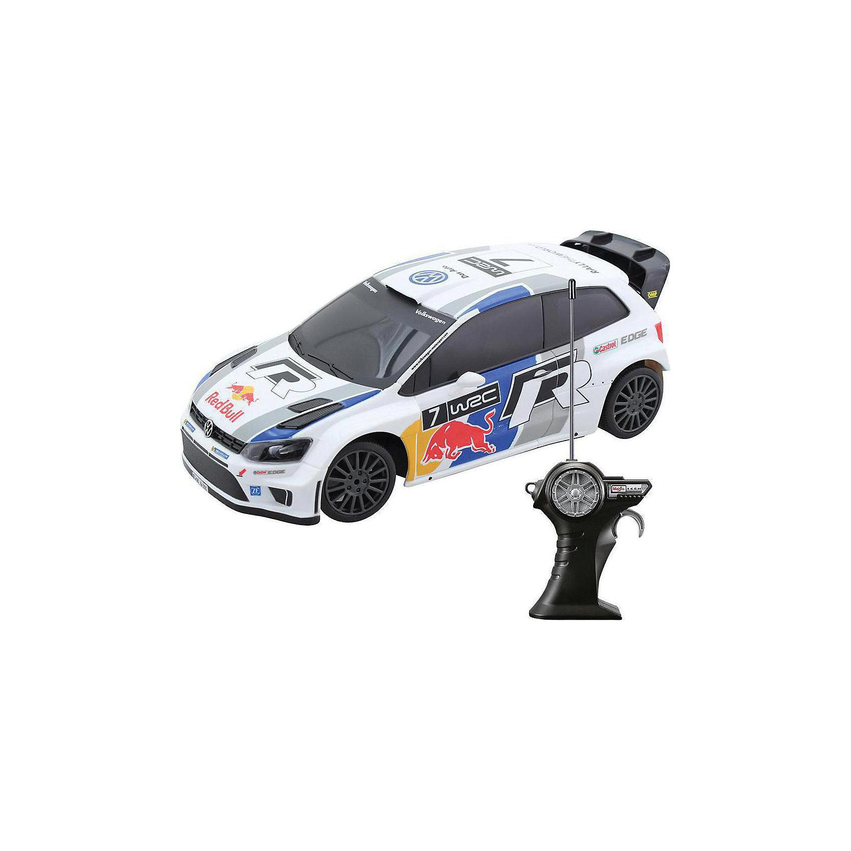Машинка Volkswagen Polo WRC на р/у 1:24, MaistoРадиоуправляемый транспорт<br>Радиоуправляемая машинка Volkswagen Polo выполнена в полном соответствии с оригинальной моделью в масштабе 1:24. Среди особенностей следует обратить внимание на функциональные элементы машины: при поднятии капота перед вами предстает настоящая копия двигателя, колеса и руль можно легко регулировать. Модель окрашена в яркую цветовую гамму.<br><br>Дополнительная информация:<br><br>- Управление: радиоуправляемая<br>- Размеры машинки: 29 x 17 x 21 см<br>- Масштаб: 1:24<br>- Материал: пластик, металл<br><br>Машинку Volkswagen Polo WRC на р/у 1:24, Maisto можно купить в нашем интернет-магазине.<br><br>Ширина мм: 279<br>Глубина мм: 131<br>Высота мм: 182<br>Вес г: 505<br>Возраст от месяцев: 96<br>Возраст до месяцев: 156<br>Пол: Мужской<br>Возраст: Детский<br>SKU: 3784161