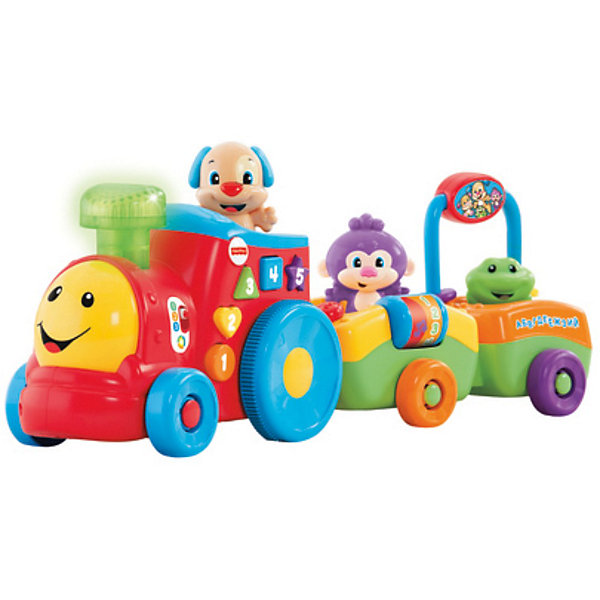 Паровозик ученого щенка, серия Смейся и учись, Fisher-Price