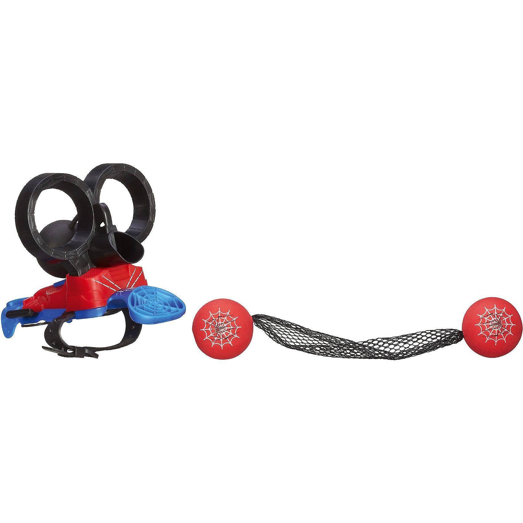Шутер Человека-паукаС Шутером Человека-Паука (Spider-Man) Ваш ребенок полностью перевоплотится в любимого супергероя. Шутер закрепляется на руке удобным ремешком. Цельтесь, стреляйте точно, и ни один злодей не останется на свободе. <br>Шутер очень легко собирается и сразу готов к работе.  Уникальное устройство работает по принципу рогатки: черный шарик натягивается и отпускается, благодаря чему паутина с красными шарами попадает прямо в противника. Дети, которые увлекаются историями про Человека-Паука (Spider-Man) будут в восторге от такой правдоподобной экипировки. Ведь с помощью нее можно разыгрывать настоящие истории.<br><br>Дополнительная информация:<br><br>- В  комплекте: бластер, 2 мячика с паутиной;<br>- Игрушка выполнена по мотивам комиксов про Человека-паука (Spider-Man);<br>- Обеспечивает точную стрельбу;<br>- Легко заряжается;<br>- Удобно фиксируется на руке любого размера;<br>- Размер упаковки: 8 x 30 x 19 см;<br>- Вес: 225 г<br><br>Шутер Человека-паука (Spider-Man) можно купить в нашем интернет-магазине.<br><br>Ширина мм: 64<br>Глубина мм: 279<br>Высота мм: 191<br>Вес г: 225<br>Возраст от месяцев: 60<br>Возраст до месяцев: 120<br>Пол: Мужской<br>Возраст: Детский<br>SKU: 3784490