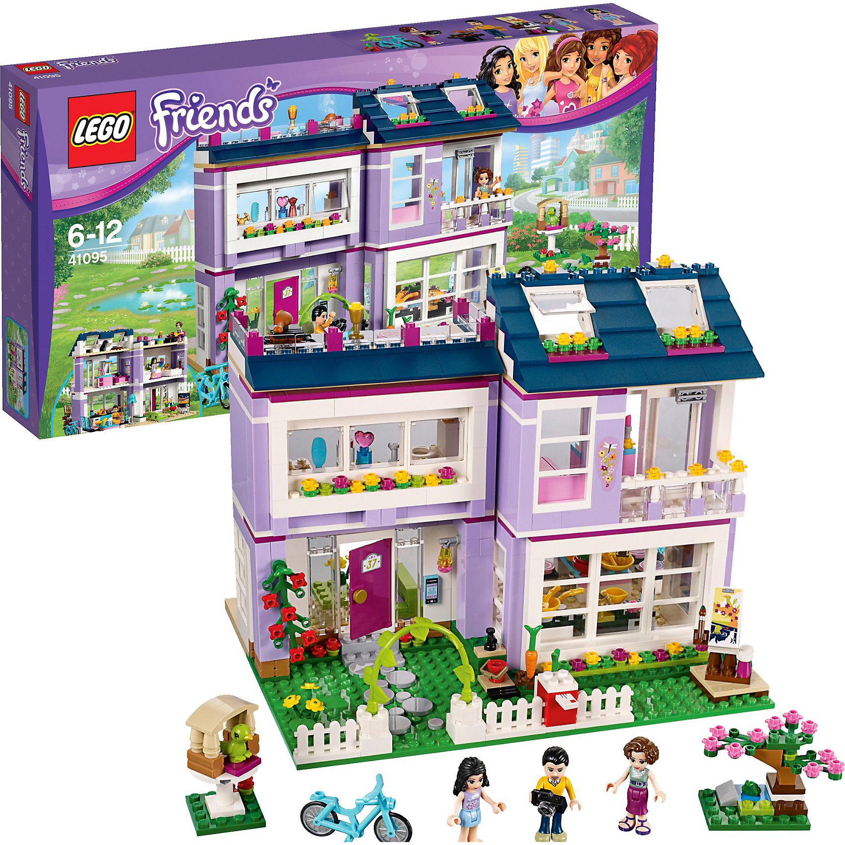 LEGO LEGO Friends 41095: Дом Эммы