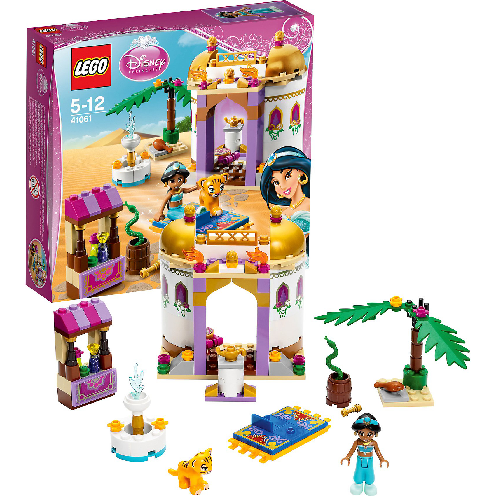 LEGO LEGO Disney Princesses 41061: Экзотический дворец Жасмин конструктор lego disney princesses экзотический дворец жасмин 41061