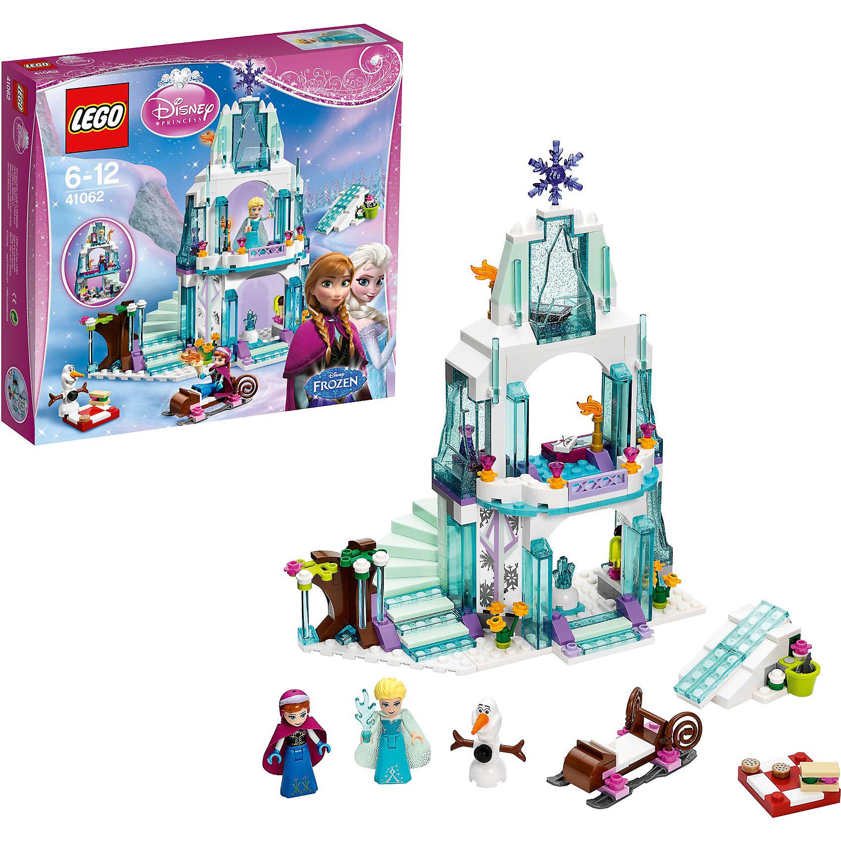 LEGO LEGO Disney Princesses 41062: Ледяной замок Эльзы конструктор lego disney princesses экзотический дворец жасмин 41061