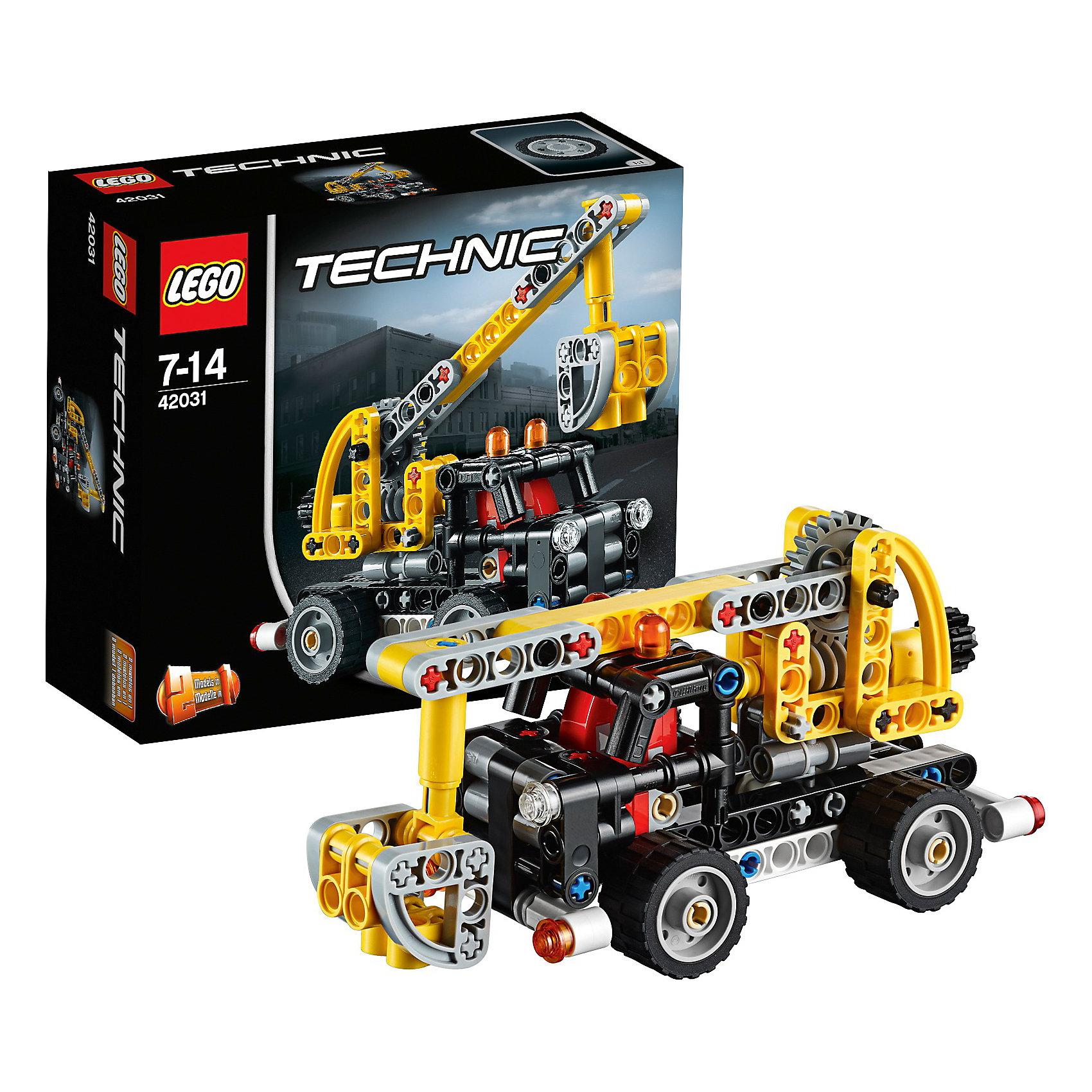 LEGO Technic 42031: Ремонтный автокран