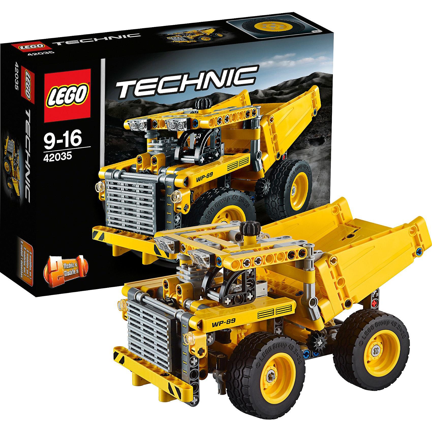 LEGO Technic 42035: Карьерный грузовик