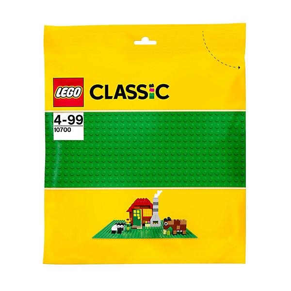 LEGO  10700: Строительная пластина зеленого цветаПластмассовые конструкторы<br>Создаете ли вы сад, лес, пустыню, дом или что-то продиктованное вам собственным воображением, эта базовая пластина зеленого цвета — идеальная отправная точка для сборки, демонстрации ваших творений из LEGO и игры с ними.<br><br>Дополнительная информация:<br><br>- Размер пластины: 32х32 см.<br>- Материал: пластик.<br>- Цвет: зеленый.<br><br>LEGO  10700: Строительную пластину зеленого цвета можно купить в нашем магазине.<br>Ширина мм: 272; Глубина мм: 259; Высота мм: 7; Вес г: 102; Возраст от месяцев: 48; Возраст до месяцев: 144; Пол: Унисекс; Возраст: Детский; SKU: 3786101;