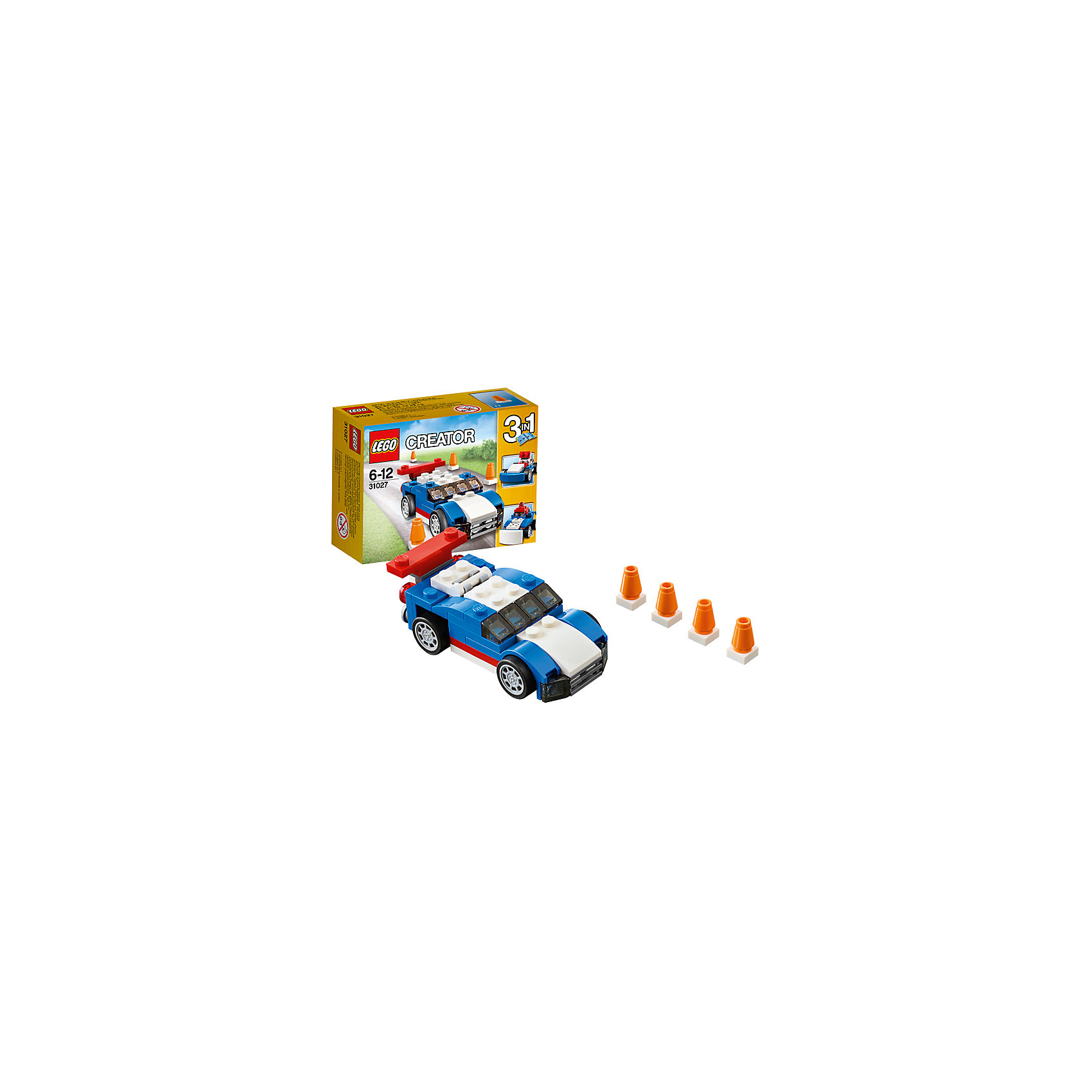 LEGO Creator 31027: Синий гоночный автомобиль