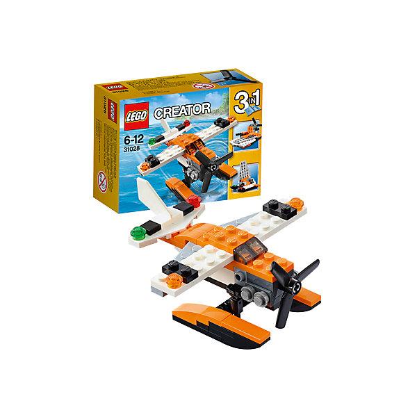 LEGO Creator 31028: ГидропланПластмассовые конструкторы<br>С набором LEGO Creator (ЛЕГО Криэйтор) 31028: Гидроплан ребенок сможет сконструировать сразу три варианта морского транспорта. Самолет, оснащенный водными лыжами, трансформируется в легкий прогулочный катамаран. Немного усилий — к спуску готов миниатюрный катер. Основной задачей гидроплана является патрулирование береговой линии и оказание помощи всем, кто попал в беду на воде. Это первоклассный летательный аппарат с оранжево-белым корпусом, большим трехлопастным пропеллером, детализированным двигателем, навигационными огнями на крыльях, тонированной кабиной пилота и большими поплавками на днище для приводнения практически на любой водоем. <br><br>С помощью конструкторов серии ЛЕГО Криэйтор малыш учится собственными руками создавать что-то новое, познает устройство окружающей действительности, развивает мышление и творческие навыки. Особенность этой серии в том, что у одного набора существует 3 готовых варианта сборки. Но также ребенок может проявлять собственную фантазию и собирать то, что ему захочется. В серию входят стандартные кубики, из которых можно собрать дома, автомобили и многое другое. Все выпускаемые конструкторы ЛЕГО Криэйтор  взаимозаменяемы, поэтому детали от любого набора прекрасно подойдут к уже имеющемуся конструктору.<br><br>Дополнительная информация:<br>-Размер упаковки: 12,2x9,1x4,7 см<br>-Размер самолета на водных лыжах: 5 х 10 х 9 см<br>-Размер катера: 5 х 8 х 4 см<br>-Размер катамарана: 8 х 8 х 4 см<br>-Вес: 0,07 кг<br>-Деталей: 53 шт.<br>-Материал: пластик<br>-Весь набор упакован в фирменную картонную коробку ЛЕГО<br><br>LEGO Creator (ЛЕГО Криэйтор)31028: Гидроплан можно купить в нашем магазине.<br>Ширина мм: 124; Глубина мм: 91; Высота мм: 48; Вес г: 76; Возраст от месяцев: 72; Возраст до месяцев: 144; Пол: Мужской; Возраст: Детский; SKU: 3786108;