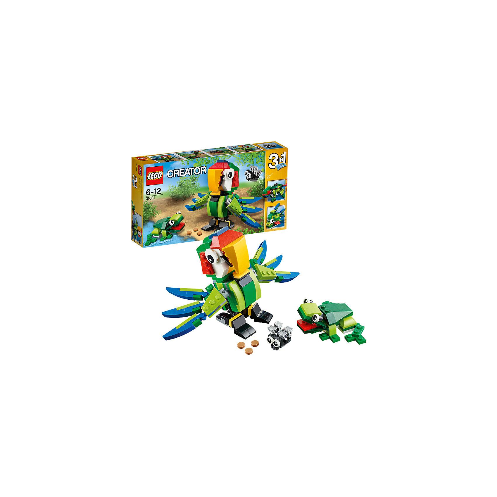 LEGO LEGO Creator 31031: Животные джунглей lego lego creator 31031 животные джунглей