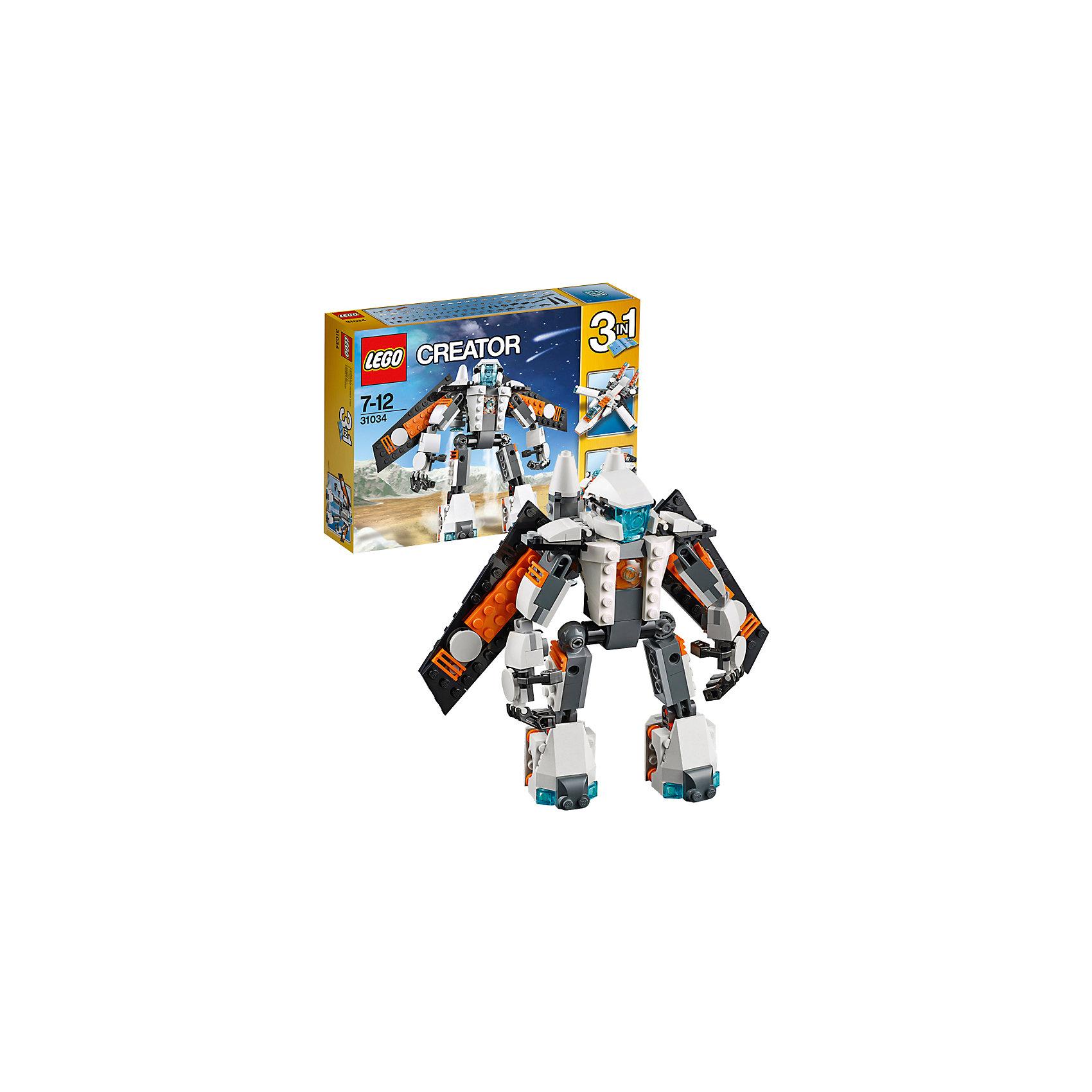 LEGO LEGO Creator 31034: Летающий робот lego creator 31042 лего криэйтор реактивный самолет