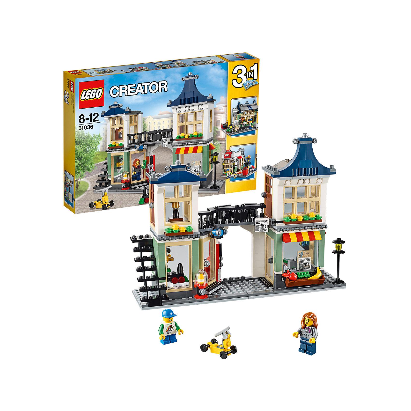 LEGO Creator 31036: Магазин по продаже игрушек и продуктов