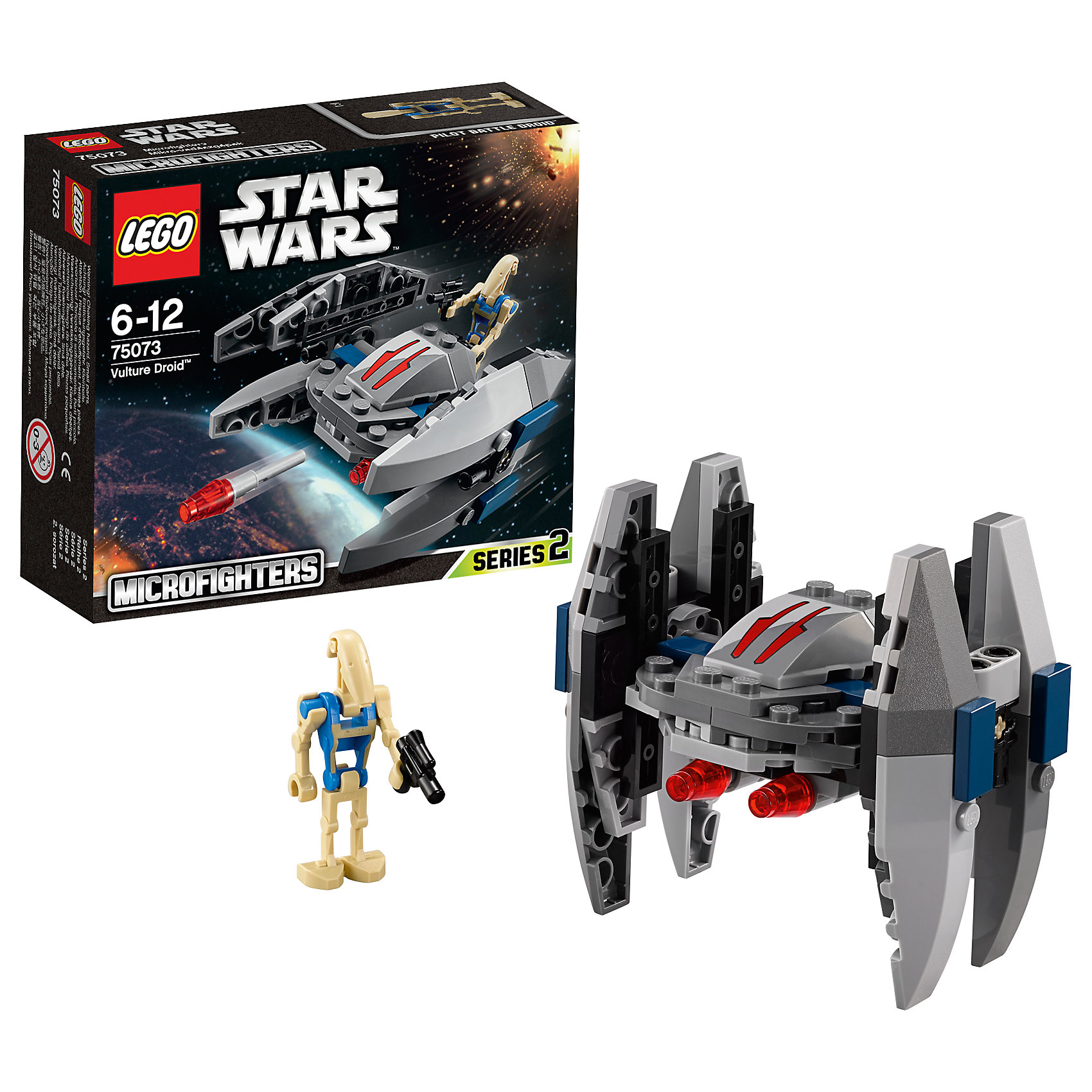 LEGO Star Wars 75073: Дроид-Стервятник™