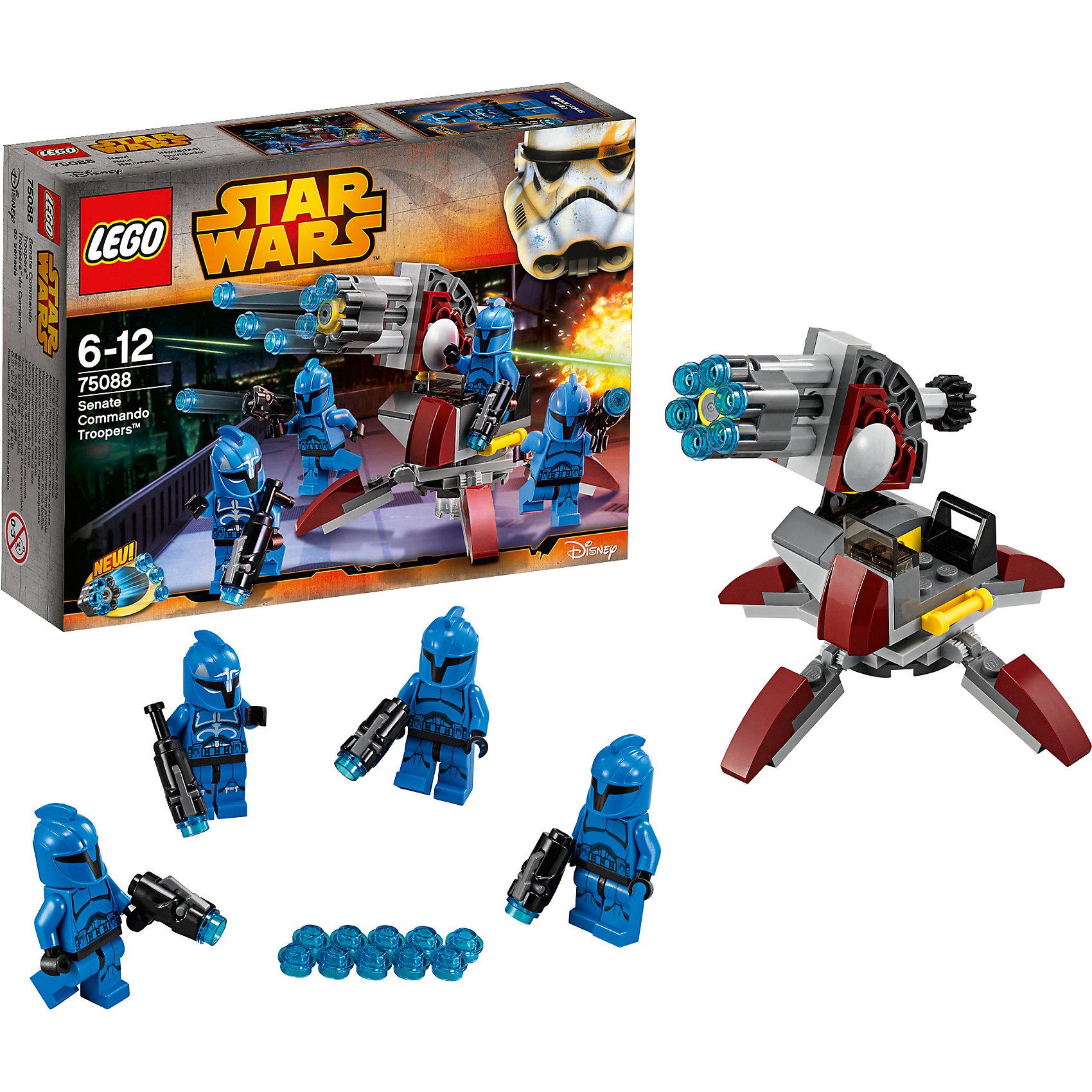 LEGO LEGO Star Wars 75088: Элитное подразделение Коммандос Сената лего звездные войны игрушки войны клонов