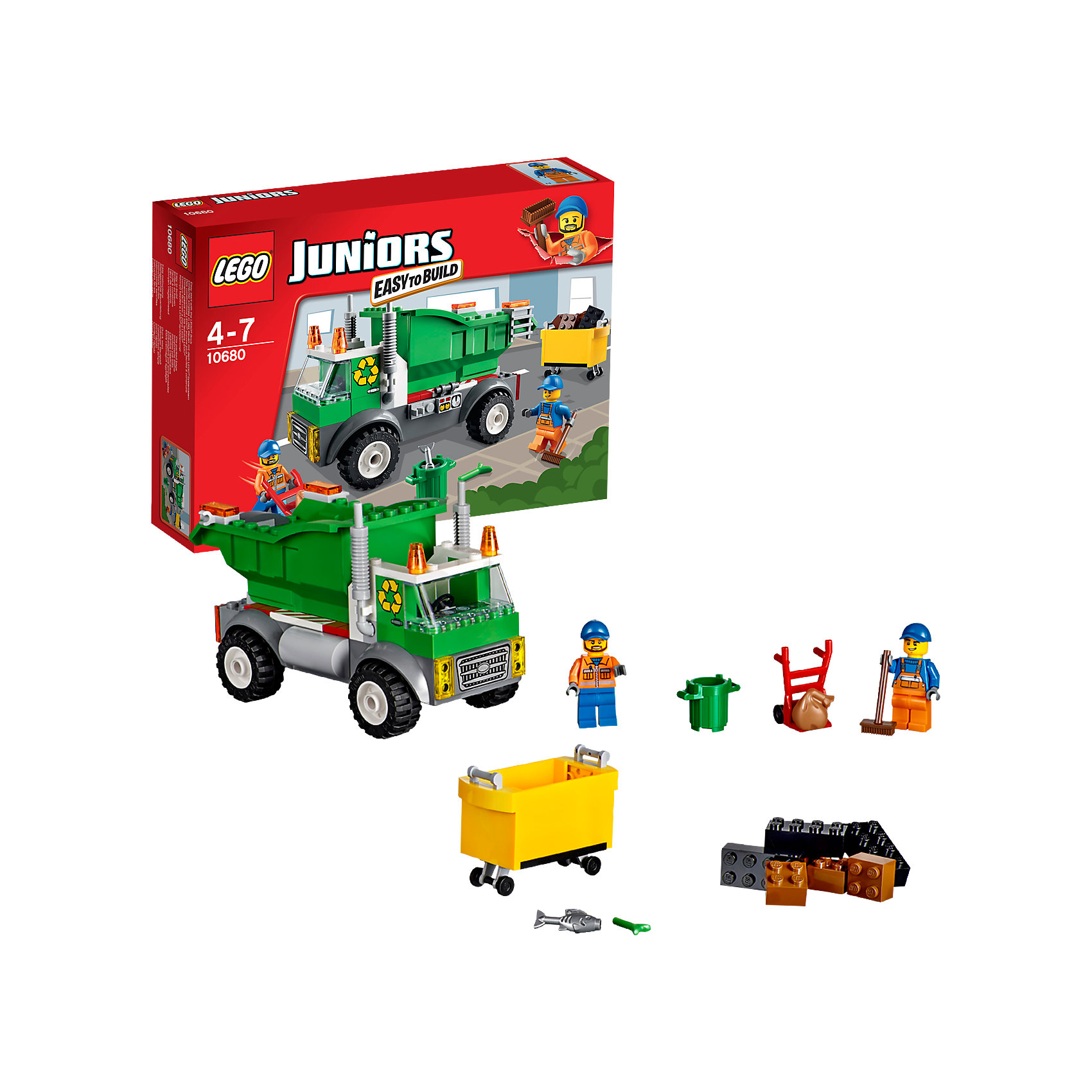 LEGO Juniors 10680: Мусоровоз