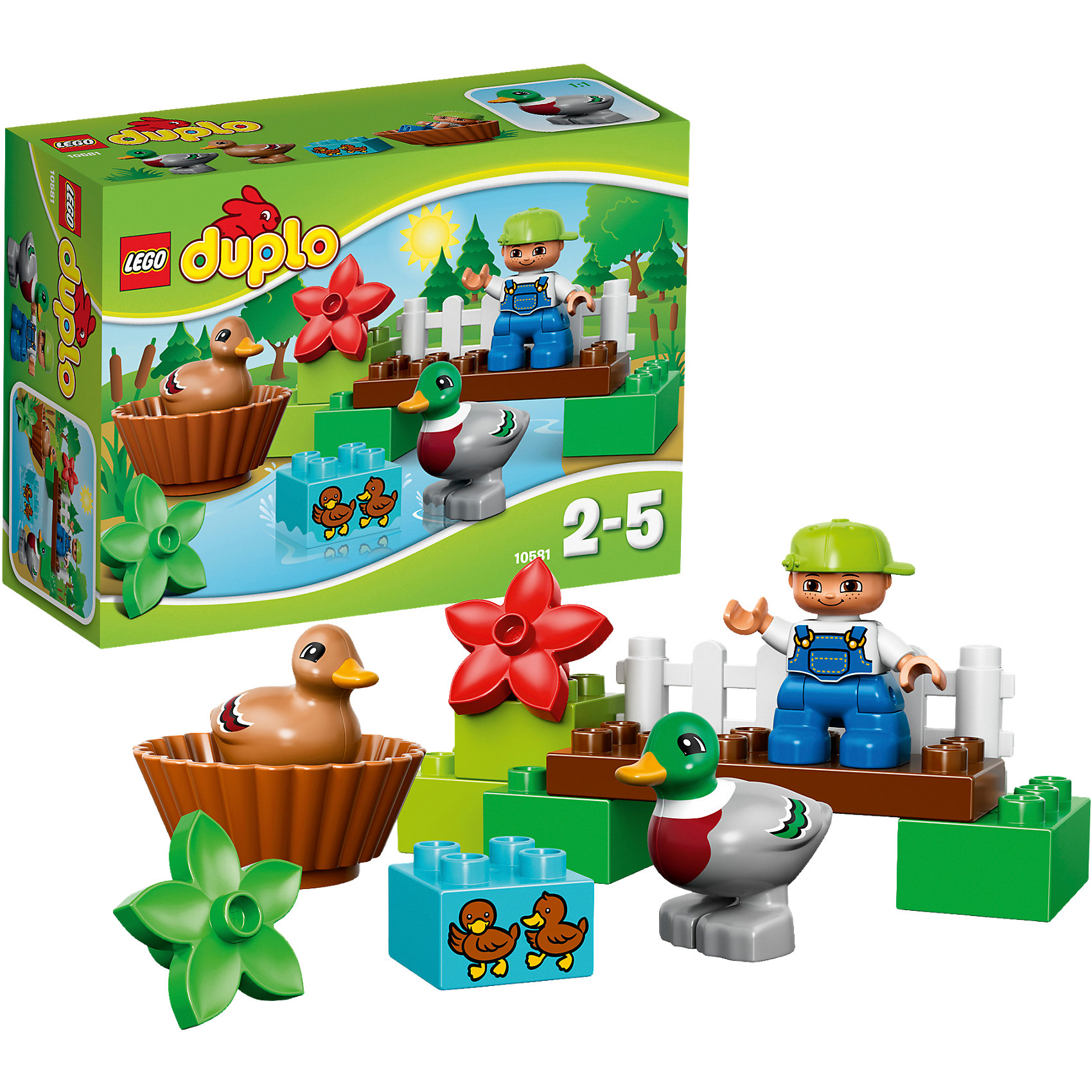 лего дупло гусеница LEGO LEGO DUPLO 10581: Уточки в лесу