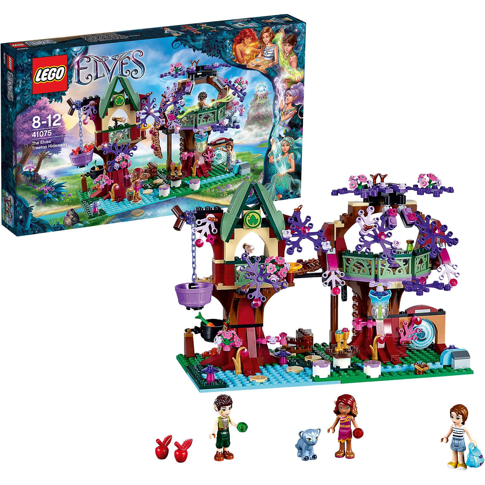LEGO LEGO Elves 41075: Дерево эльфов сковорода d 24 см regent arma 93 al ar 1 24