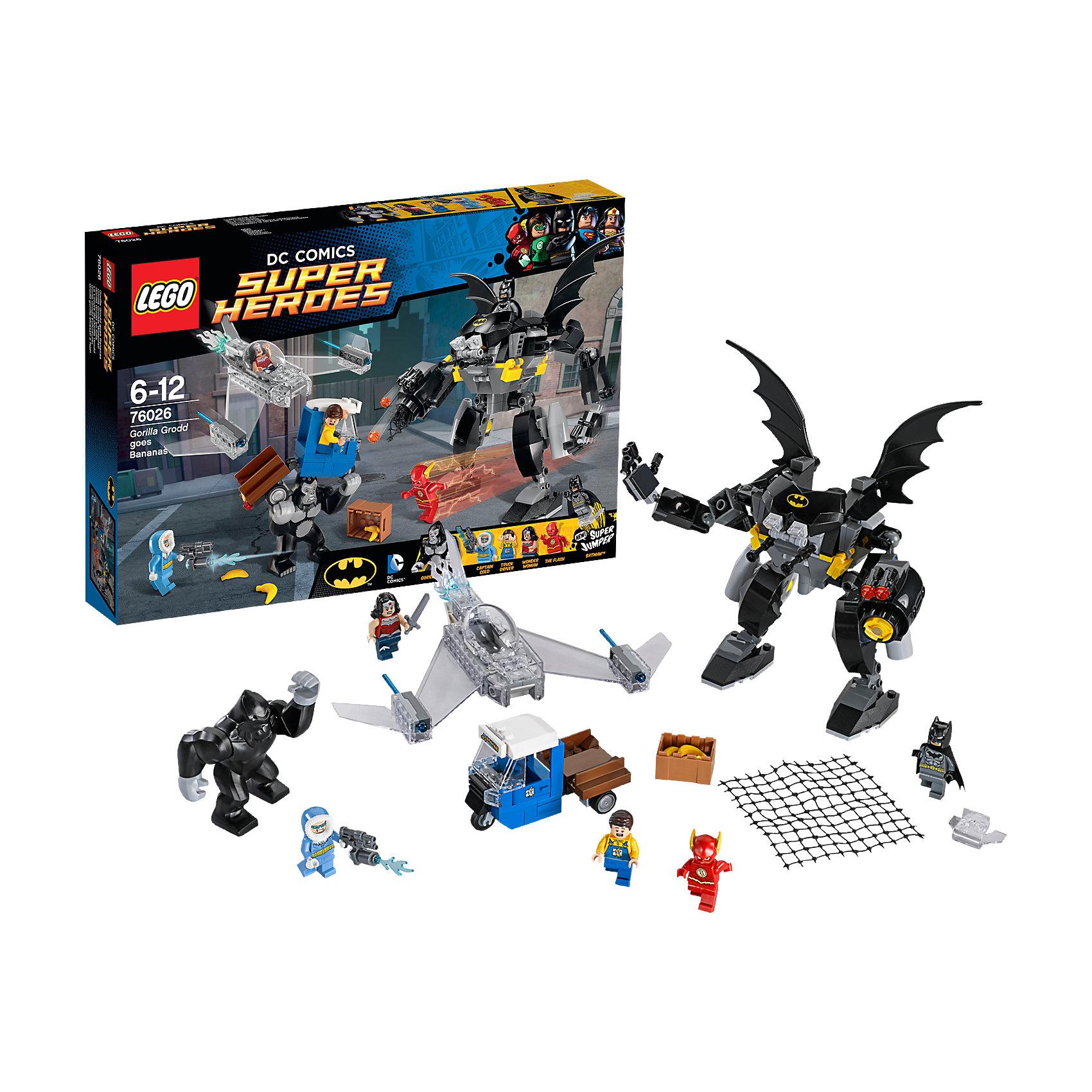 LEGO LEGO Super Heroes 76026: Горилла Гродд сходит с ума конструктор lego super heroes 76055 бэтмен убийца крок