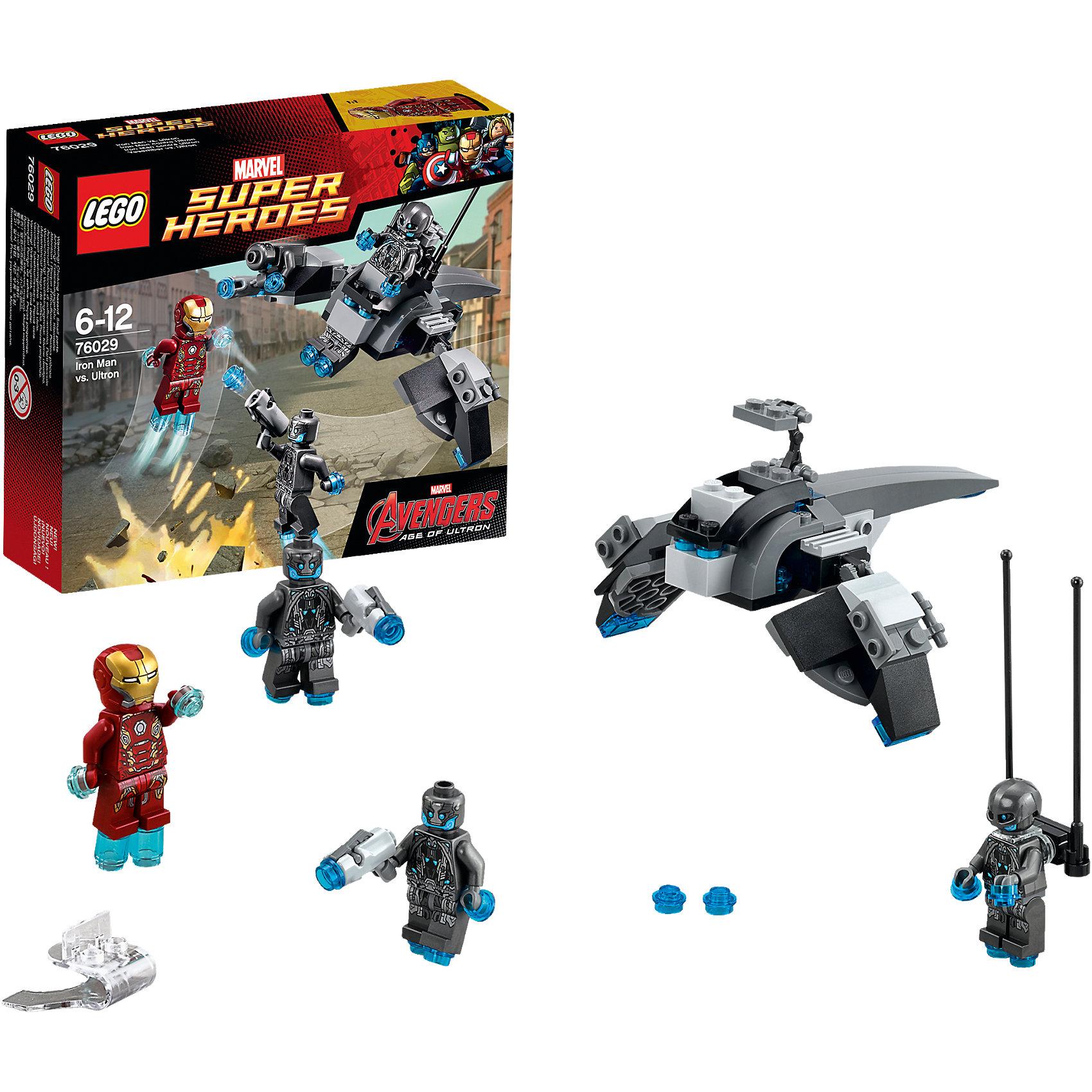 LEGO LEGO Super Heroes 76029: Железный человек против Альтрона lego super heroes 76058 лего супер герои человек паук союз с призрачным гонщиком