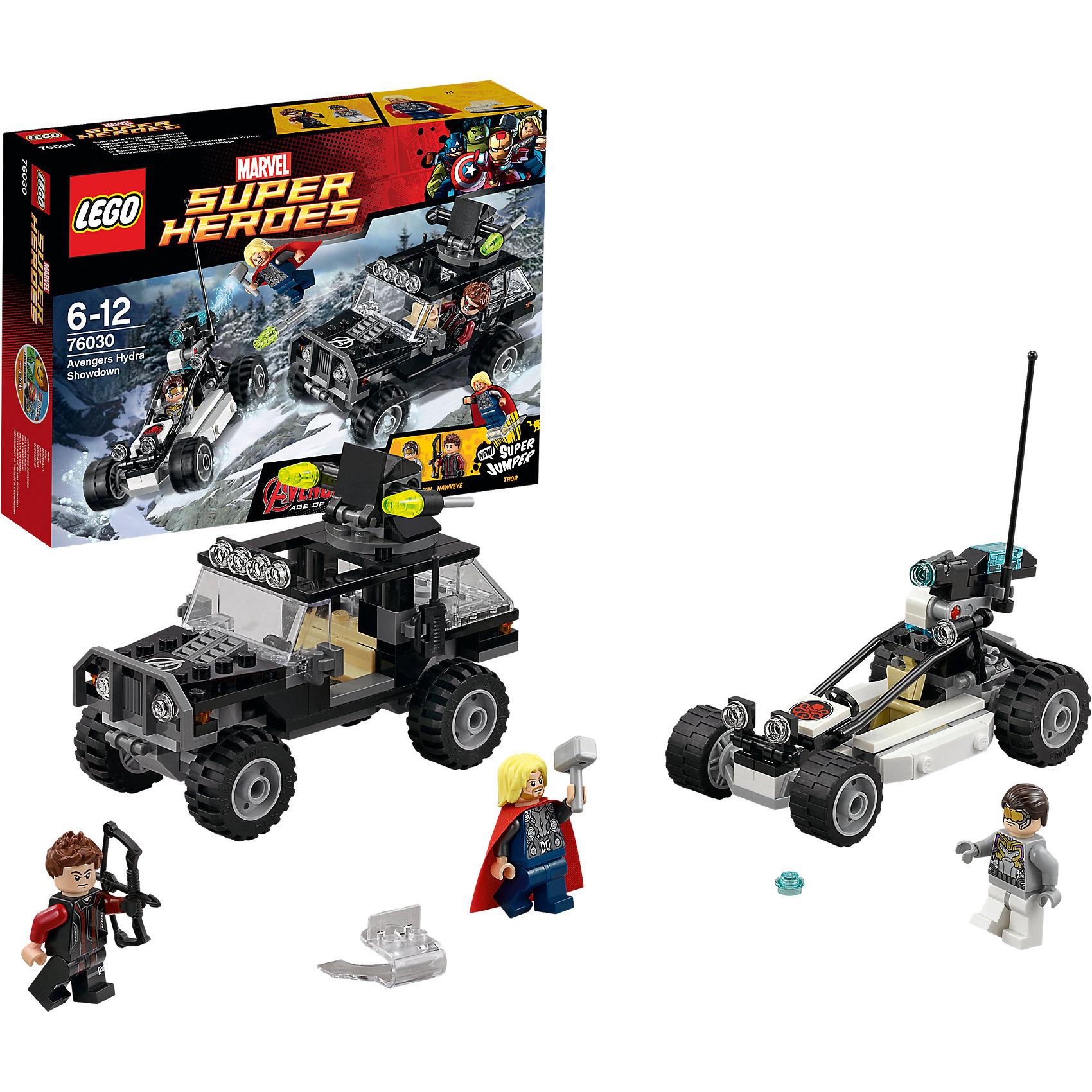 LEGO LEGO Super Heroes 76030: Гидра против Мстителей lego lego super heroes 76049 реактивный самолёт мстителей космическая миссия
