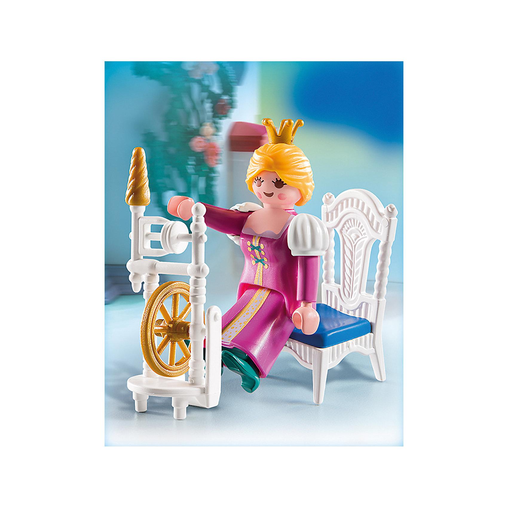 PLAYMOBIL® Экстра-набор: Принцесса с прялкой, PLAYMOBIL playmobil® экстра набор сёрфингист с доской playmobil