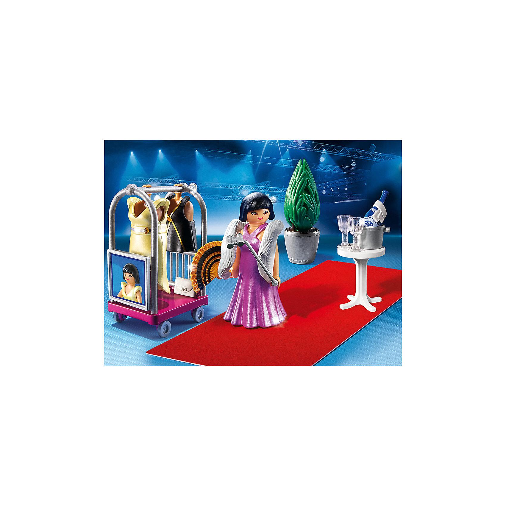 PLAYMOBIL® Фэшн и Стиль: Знаменитость на красной дорожке, PLAYMOBIL playmobil® playmobil 5546 парк развлечений продавец шаров smileyworld