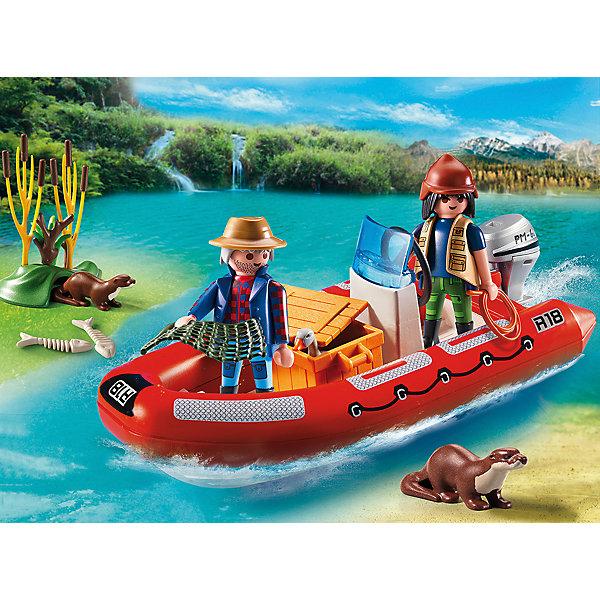 В Поисках Приключений: Лодка с браконьерами, PLAYMOBILПластмассовые конструкторы<br><br><br>Ширина мм: 252<br>Глубина мм: 190<br>Высота мм: 78<br>Вес г: 322<br>Возраст от месяцев: 48<br>Возраст до месяцев: 120<br>Пол: Унисекс<br>Возраст: Детский<br>SKU: 3786445