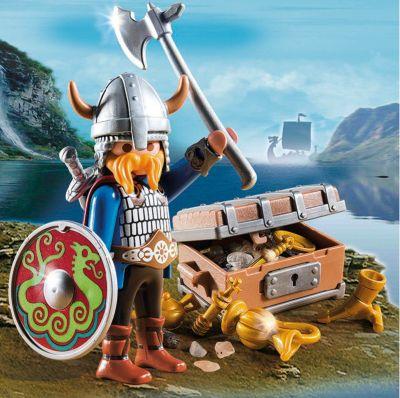 Playmobil® Экстра-Набор: Викинг С Сокровищами, Playmobil