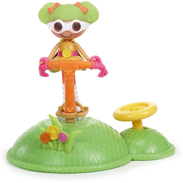 Кукла Веселый спорт: Ходуля, Mini LalaloopsyБренды кукол<br>Куколка Веселый спорт: Ходуля, Mini Lalaloopsy (Мини Лалалупси) весело прыгает на своей ходуле, стоит только нажать на кнопку. Серия Веселый спорт позволит Вам создать целую спортивную площадку у себя дома. Маленькие куколки сильные и подвижные: помогая куколкам осваивать новые снаряды и приобщайся к спорту. Тогда жизнь Lalaloopsy (Лалалупси) станет еще интереснее! Куколка Ходуля очень веселая, она может целый день прыгать на ходуле и никогда не устанет. <br>В комплекте с куколкой есть зеленая платформа  на которой установлена ходуля. Девчонок обязательно заинтересует эта задорная куколка!<br><br>Дополнительная информация:<br><br>- В наборе: кукла, аксессуар;<br>- Прививает любовь к спорту;<br>- Идеальный подарок для малышки;<br>- Развивает фантазию и воображение;<br>- Игрушка упакована в очаровательную подарочную коробочку;<br>- Материалы: пластик;<br>- Высота куколки: 7,5 см;<br>- Размеры упаковки: 20,5 х 17,5 х 9,5 см;<br>- Вес: 238 г<br><br>Куклу Веселый спорт: Ходуля, Mini Lalaloopsy (Мини Лалалупси),  можно купить в нашем интернет-магазине.<br>Ширина мм: 205; Глубина мм: 175; Высота мм: 95; Вес г: 238; Возраст от месяцев: 36; Возраст до месяцев: 84; Пол: Женский; Возраст: Детский; SKU: 3786830;