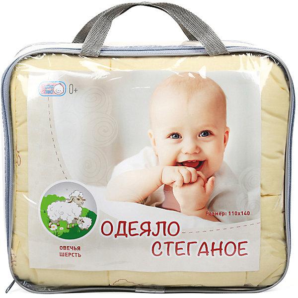 Одеяло стеганное, овечья шерсть, 105х140 см, Baby NiceОдеяла в кроватку новорождённого<br>Дополнительная информация:<br><br>Наполнитель: 50% овечья шерсть, 50% полиэфирное волокно.<br>Размер 105х140 см<br>Вес в упаковке: 800 г.<br>Размер упаковки: 500 х 500 х 80 мм.<br><br>Одеяло стеганное, овечья шерсть можно купить в нашем магазине.<br>Ширина мм: 500; Глубина мм: 500; Высота мм: 80; Вес г: 800; Возраст от месяцев: 0; Возраст до месяцев: 60; Пол: Унисекс; Возраст: Детский; SKU: 3788251;