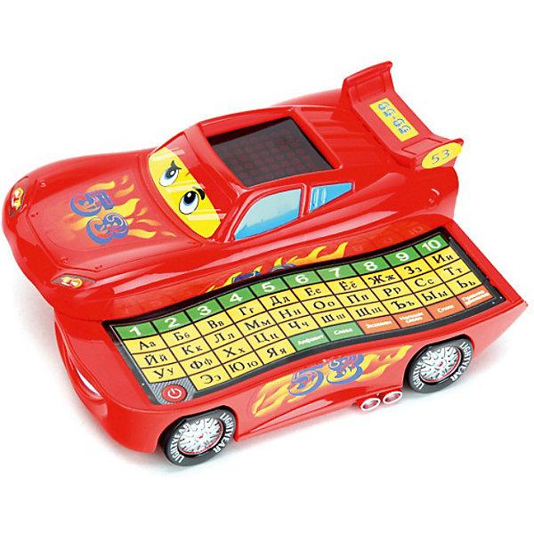 Обучающая машинка, с азбукой, УмкаДетские гаджеты<br>Обучающая машинка, с азбукой, Умка – это забавная развивающая игрушка для малышей в виде машинки.<br>Этот оригинальный и умный детский гаджет будет не только развлечением, но и очень полезный вещицей у Вашего ребенка, которая каждый день будет знакомить его с чем-то новым и безумно радовать! Сделан этот чудо-гаджет в виде героя мультфильма «Тачки 2» (Cars) Молнии Маккуина и может даже неплохо ездить! Но основное преимущество этой игрушки в другом. Разложив ее одним движением руки, ребенок сможет начать игру-обучение! Внутри у машинки кроется сенсорная клавиатура, а на крыше располагается экран. На клавиатуре есть несколько режимов: алфавит, экзамен, слова, напиши слово, стихи и правила дорожного движения. В режиме «алфавит» ребенок может нажимать на буквы клавиатуры, а машинка будет произносить ее название. В режиме «Слова» машинка познакомит ребенка со словами, начинающимися на определенную букву, которую он нажал. «Напиши слово» - это режим, где ребенку нужно будет набрать правильно слово, данное машинкой в задании. Если оно написано с ошибкой, машинка сообщит об этом. <br>Также машинка может прочесть ребенку стихи и рассказать ему о правилах поведения на дороге. А в режиме экзамена ребенок сможет проверить полученные знания. От такой игрушки трудно будет оторваться и поэтому, обучение будет проходить интересно и с удовольствием!<br><br>Дополнительная информация:<br><br>- В памяти машинки: 53 стихотворения, песня<br>- Материал: высококачественная пластмасса<br>- Размер игрушки: 8 х 20 х 15 см.<br>- Батарейки: 3 x батареи х AA (входят в комплект)<br><br>Обучающую машинку, с азбукой, Умка можно купить в нашем интернет-магазине.<br><br>Ширина мм: 200<br>Глубина мм: 80<br>Высота мм: 160<br>Вес г: 440<br>Возраст от месяцев: 12<br>Возраст до месяцев: 60<br>Пол: Унисекс<br>Возраст: Детский<br>SKU: 3789459