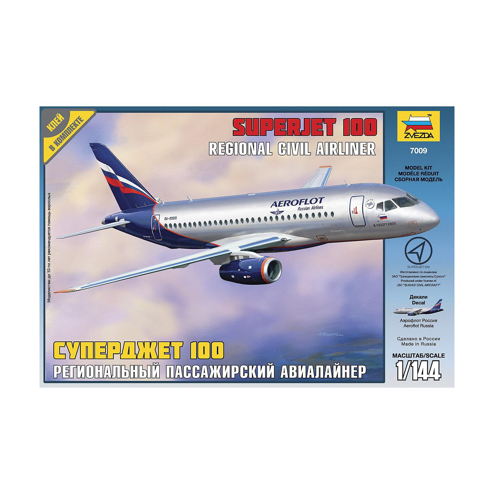Сборная модель авиалайнера